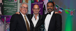 Joe along with Mr. Doug Bugie President Antal International Network  & Mr. Tony Goodwin, Founder and Executive Chairman. Antal International Antal International Network