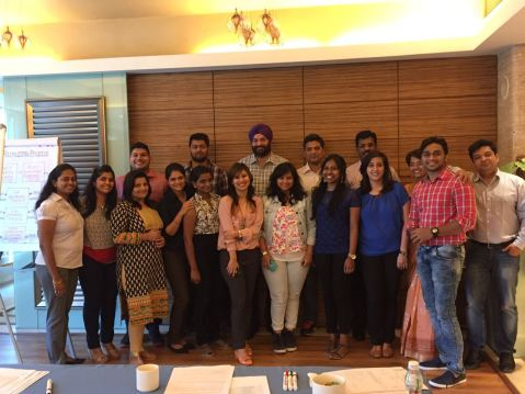 Recently concluded Induction Class: New Owners and Consultants from across India
