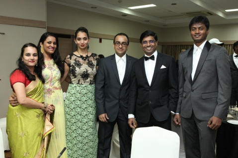 Vinu Nair along with his Team