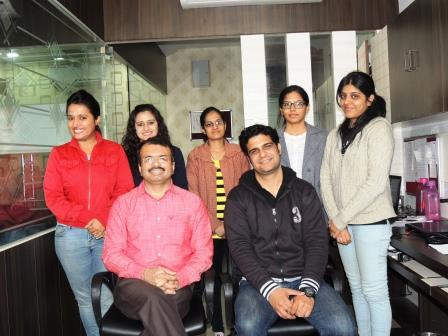 Naresh Sharma along with his Team of Niche Recruiters
