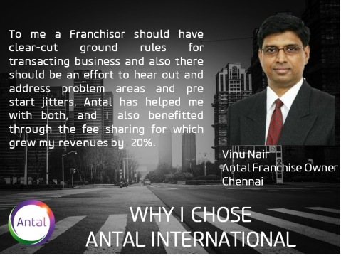 Why I Chose Antal - Vinu Nair